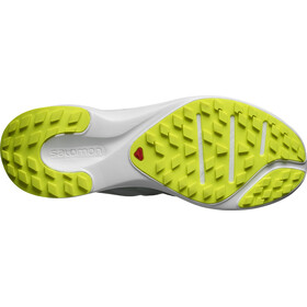 Salomon Sense Flow GTX Zapatillas Hombre, green milieu/white/safety yellow